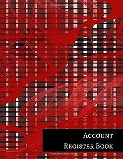 amazon com savings account register template 9781521255872