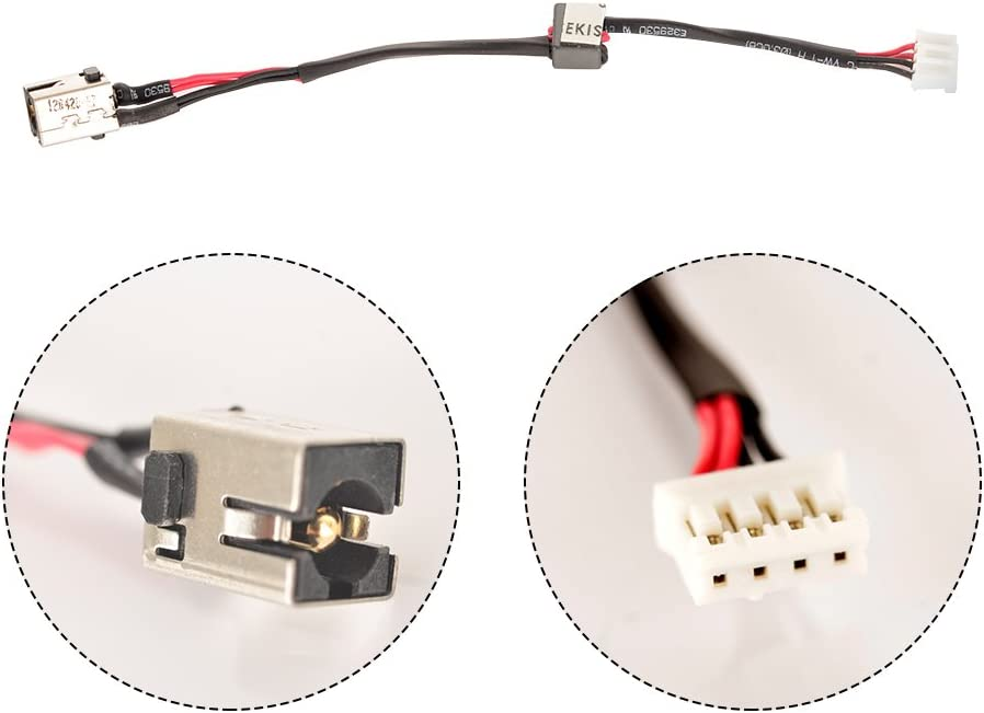 DC POWER JACK SOCKET HARNESS CABLE FOR LENOVO IDEAPAD Z400 Z500 SERIES