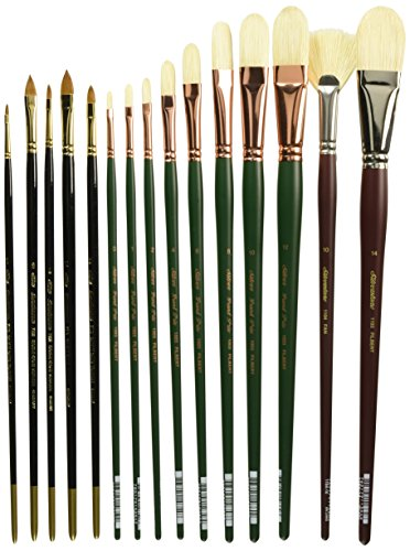 Silver Brush DG-7226 Daniel Greene NA Professional Brush Set, 20 Per Pack by Silver Brush Limited