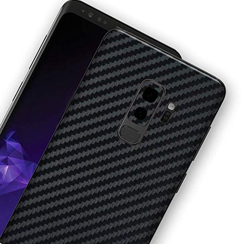 Bloom Skins for Samsung Galaxy S9+ / Galaxy S9 Plus Luxury Carbon Fiber Protective 3M Vinyl Skin Decal Heavy Duty Wrap Premium Ultra Thin Case Back Cover Film Sticker with -