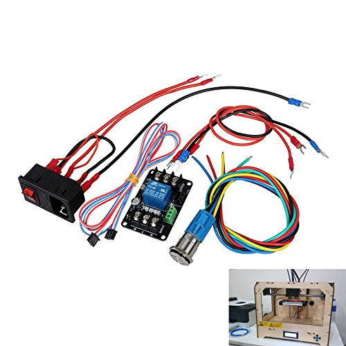 SODIAL Modulo de monitoreo de Potencia de Impresora 3D Imprimir ...