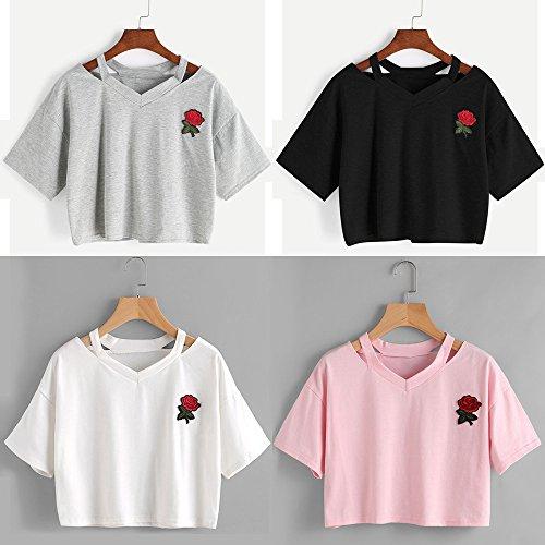 Rose Wolfleague Femmes Wolfleague Femmes Broderie Femmes Wolfleague Rose Broderie Broderie Rose 7xHpAg