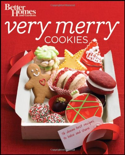 Better Homes and Gardens Very Merry Cookies (Better Homes and Gardens Cooking) by Better Homes and Gardens