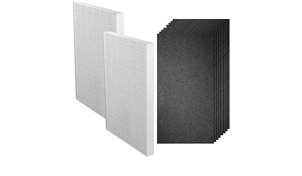 Spares2go EF114 HEPA13 - Filtros de carbono para aspiradora Electrolux EAP 300 EAP300 (2 + 4 filtros EF118): Amazon.es: Grandes electrodomésticos