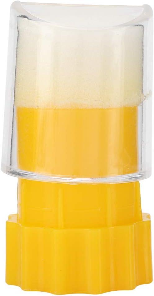3,7 cm in ABS Essenziale per lapicoltura Gabbia per marcatura marcatori 7,4 Weikeya Pennarello Ape Regina
