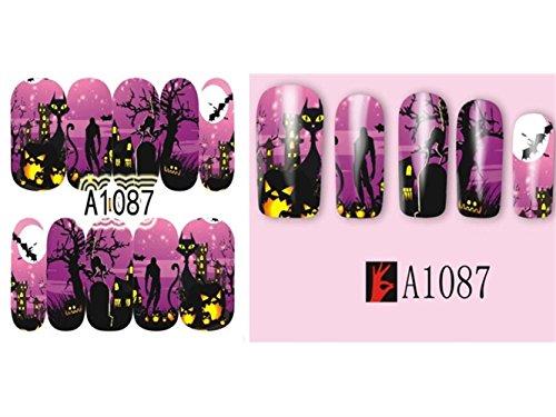 Hezon Nail Art Decoration Halloween Nail Art Decorations
