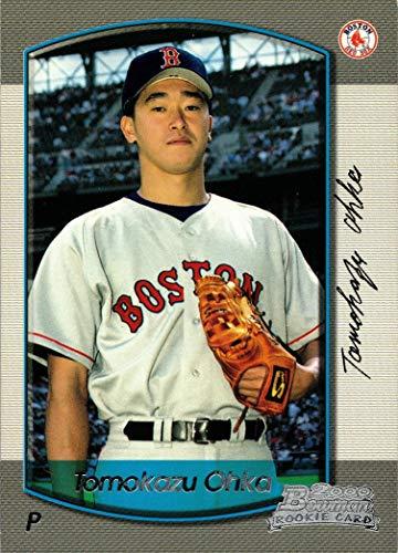2000 Bowman Baseball #259 Tomokazu (Tomo) Ohka Rookie Card - Red Sox
