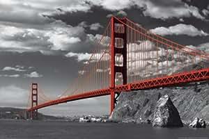 Empire 333766 - Póster del puente Golden Gate de San Francisco (61 x 91,5 cm)