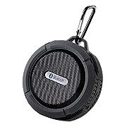 Amazon Lightning Deal 68% claimed: Patec Mini 5W Power (IPX5 Water Resistant) Waterproof Shockproof Bluetooth Wireless Sport Speaker
