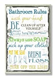 Stupell Home Décor 'Bathroom Rules ' Typography