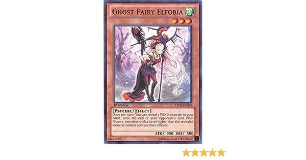 Ghost Fairy Elfobia LTGY-EN085 Super Rare Yu-Gi-Oh Card 1st Edition New