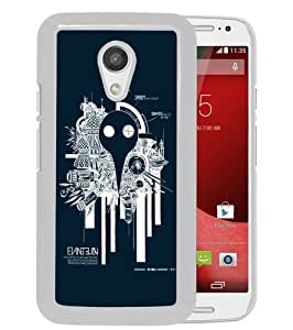Hot Sale Motorola Moto G 2nd Generation Case ,Neon Genesis Evangelion 26 White Motorola Moto G 2nd Cover Unique And High Quality Designed Phone Case