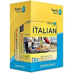 Learn Italian: Rosetta Stone Bonus Pack (24 Month Subscription + Lifetime Download + Book Set)