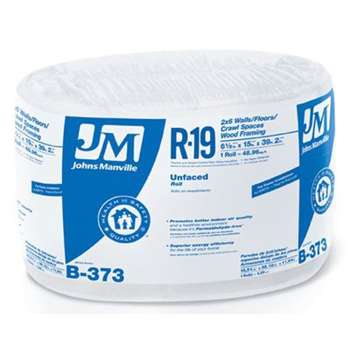 """JOHNS MANVILLE INTL 90003721 Series R19 15""""x 39'2""""UnfacRoll for sale  Delivered anywhere in USA"""