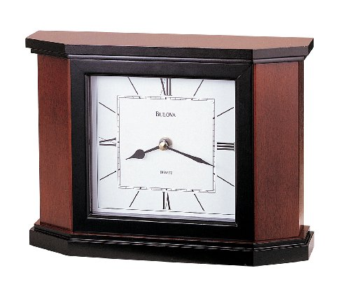 Bulova B1881 Holyoke Clock, Cherry Finish