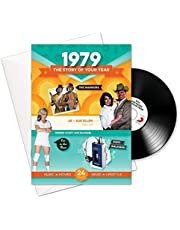 1979 Birthday or Anniversary Gifts - 1979 4-In-1 Card and Gift - Story of Your Year , CD , Music Download