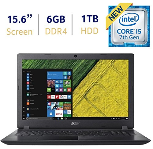2018 Newest Acer Aspire 3 15.6-inch HD Widescreen LED-backlit Display Laptop PC