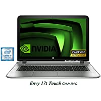 HP Envy Touch 17-s143 Gaming Laptop 17.3 Full HD 7th Gen Intel i7 up to 3.5GHz 1TB 16GB B&O Audio WiFi HDMI NVIDIA 4GB (Certified Refurbished)