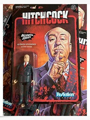 ReAction Halloween Series Alfred Hitchcock Action Figure [Bloody Variant] -