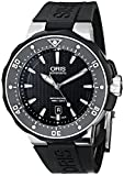Oris Men's 73376827154RS Divers Titanium Automatic Watch with Black Rubber Band