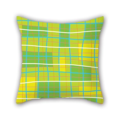 Price comparison product image PILLO Geometry Throw Pillow Case 18 X 18 Inches / 45 By 45 Cm Gift Or Decor For Father, kids Room, bench, home Theater, dance Room - 2 Sides