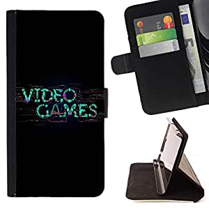 BETTY - FOR Samsung Galaxy S6 EDGE - cool video game gamer nerd player art - Style PU Leather Case Wallet Flip Stand Flap Closure Cover