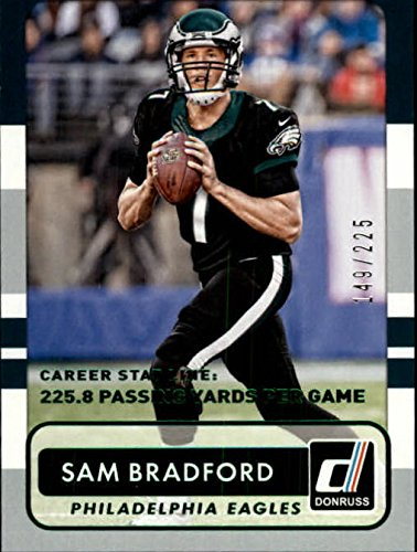 2015 Donruss Stat Line Career #14 Sam Bradford /225 - NM-MT