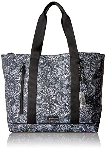 sakroots-new-adventure-nylon-tote-black-white-spirit-desert