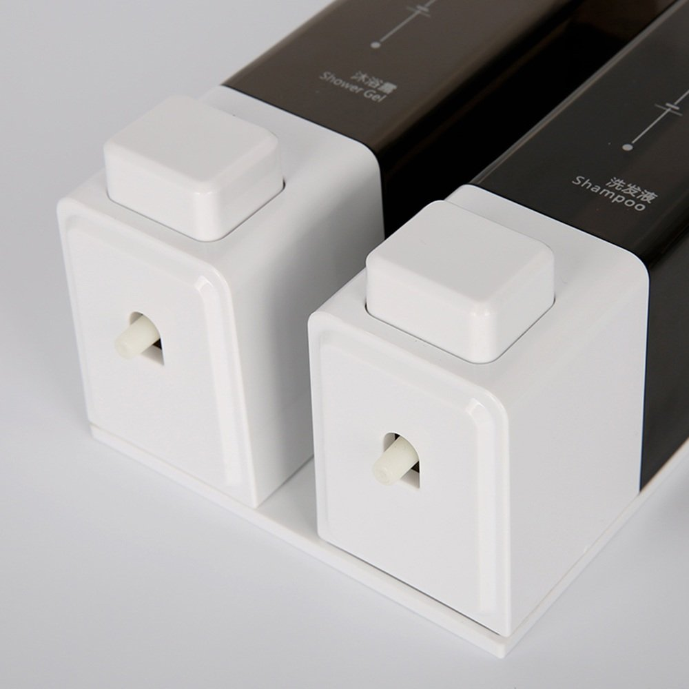 LF Dispensadores de jabón y loción Dispensador de jabón / distribuidor de jabón manual de doble pared / dispensador de jabón de hotel / hogar / caja de ...