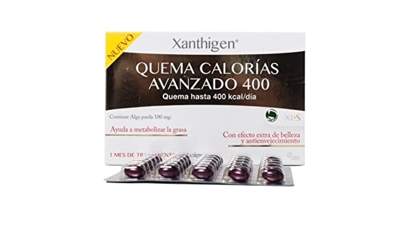 Amazon.com : Xanthigen Quema Calorias Avanzado 400 Kcal / Dia 90 Capsulas Xls : Baby