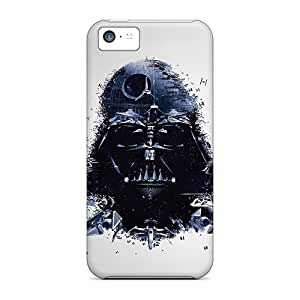 High Quality Hard Phone Cover For Apple Iphone 5c (Djo734UMRT) Allow Personal Design Stylish Star Wars Darth Vader Artwork Image