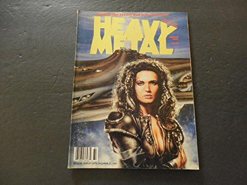 Heavy Metal Winter 1989 Hombre The Sexiest Man In The - Glasses Men Sexiest For