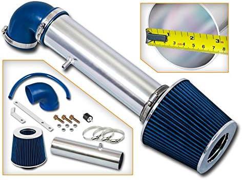 Rtunes Racing Short Ram Air Intake Kit Filter Combo BLUE Compatible For 97-04 Jeep Cherokee//Grand Cherokee//LaREDo V6 /…