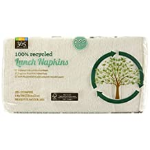 365 Everyday Value 100% Recycled Lunch Napkins, 200 Count