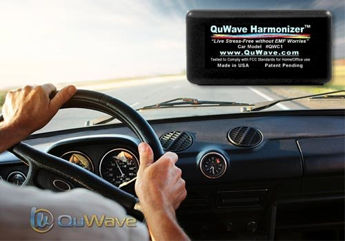 EMF Protection for Cars and Trucks. Protection on the road from EMF hazards produced from electronics in a car/truck. Mobile EMF Protection, EMF Shield. Protective Field Enhances Mental, Physical Performance, Fights Stress, Illness, Negative Energies, Ext by QuWave LLC (Image #5)