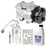 2003 mustang ac compressor - New AC Compressor & Clutch With Complete A/C Repair Kit For Ford Mustang V8 - BuyAutoParts 60-80219RK New