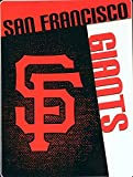 MLB San Francisco Giants Speed Plush Raschel Throw Blanket, 60x80-Inch