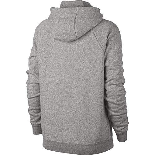 Hoodie Mujer white Grey pale Heather Grey Nike Rally Nsw Sweatshirt W Fz wxnCnTSUfq