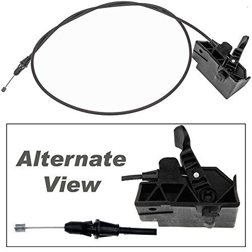 APDTY 023193 Hood Latch Release Cable With Handle Fits 2004-2008 Ford F150 or 2006-2008 Lincoln Mark LT Pickup (Replaces Ford 6L3Z16916AA, ()
