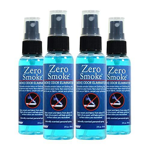 Jenray Smoke Odor Eliminator Spray 2 Oz. Smoke Smell Eliminator (4) (Air Glycolized Sanitizer)