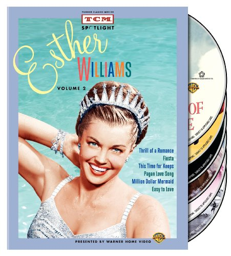 TCM Spotlight: Esther Williams, Vol. 2 (Thrill of a Romance / Fiesta / This Time for Keeps / Pagan Love Song / Million Dollar Mermaid / Easy to Love) by Warner Manufacturing