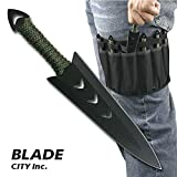 Blade City Throwing Knives – 6.5 Inch 6Pcs