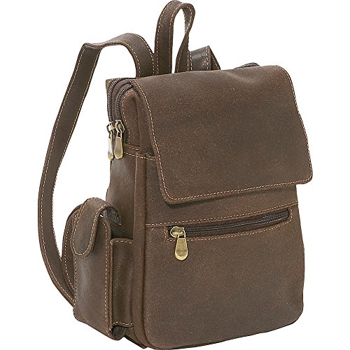 le-donne-leather-distressed-leather-womens-backpack-purse-chocolate