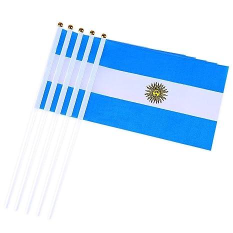 DierCosy Argentina Palo de la Bandera 10PCS / Paquete ...