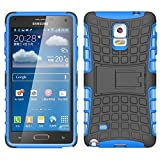 Galaxy Note 4 Case, K-Xiang (TPU Series) Heavy Duty Protection shockproof Impact Resistant Hybrid Dual Layer Slim Fit Case Cover With Kickstand for Samsung Galaxy Note 4
