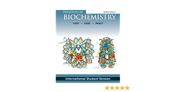 Amazon Com Principles Of Biochemistry Donald Voet Judith G Voet