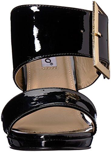 2 Lippen Te Womens Te Versuft Sandaal Zwart Patent