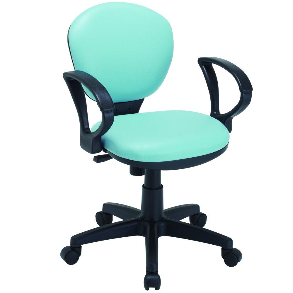ナカバヤシ オフィスチェア デスクチェア 椅子 ブルー RZG-201BL B0007PL7MI RZG-201BL