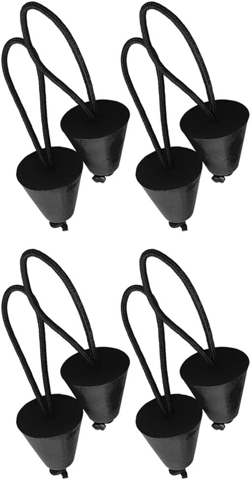 Amazon.com : Injoyo 8 Count Kayak Canoe Scupper Plug Silicone Bungs with Cord Boat Accessories : Sports & Outdoors
