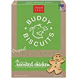 Cloud Star Buddy Biscuits Original Oven Baked Dog Treats, Roasted Chicken, 16-Ounce Boxes, Pack of 6